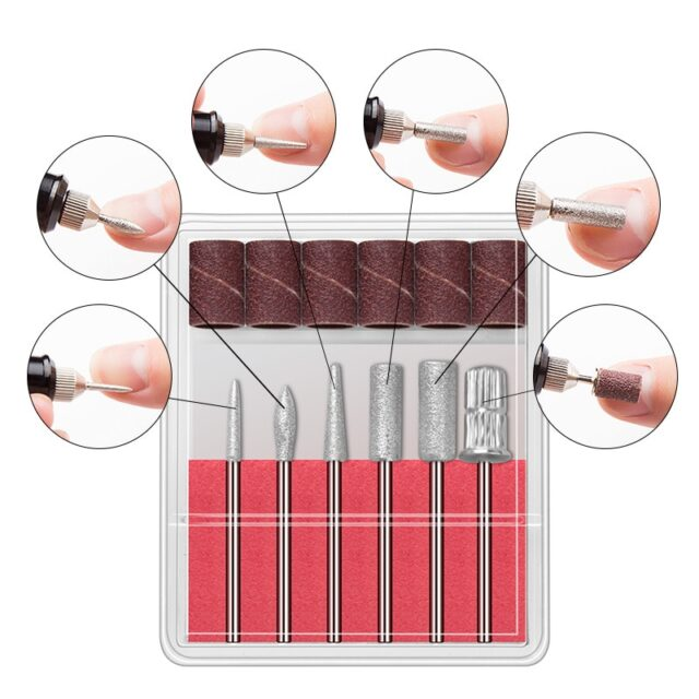 Electric Nail Art Manicure Device