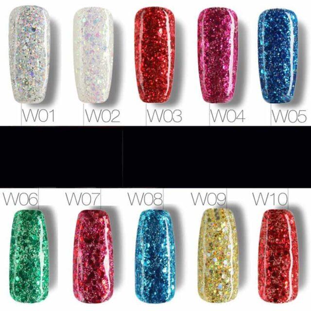 Diamond Glitter Gel Nail Polish 10 Ml