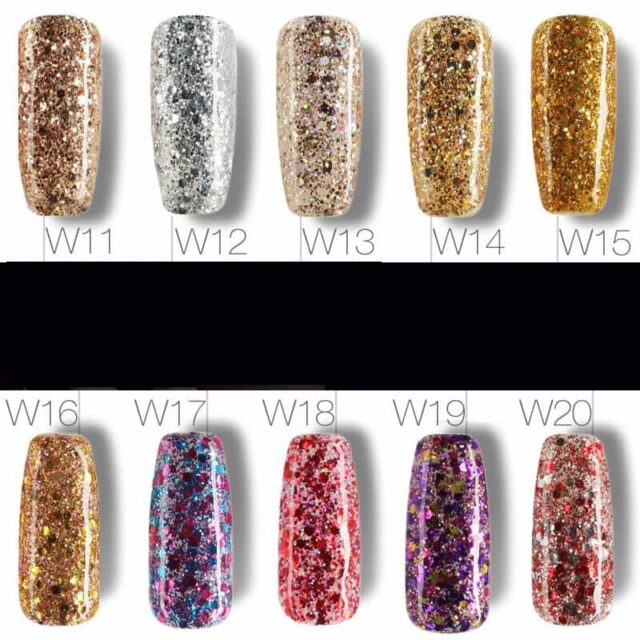 Diamond Glitter Gel Nail Polish 10 Ml