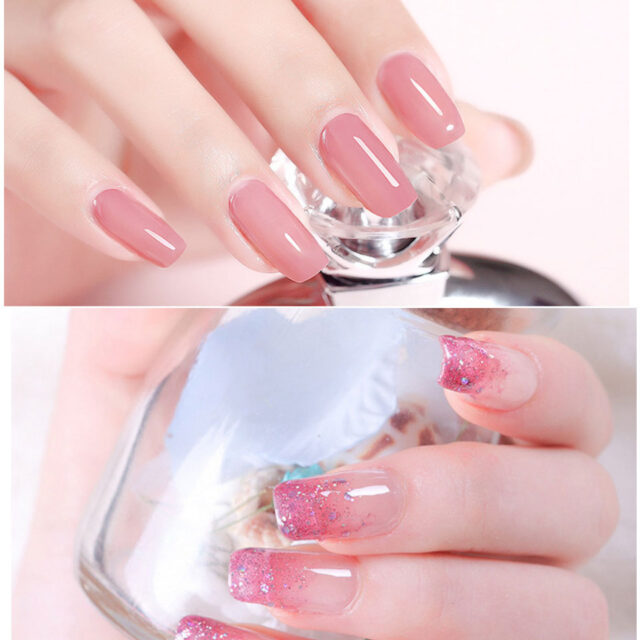 Polygel Nail Extention Kit with UV Lamp