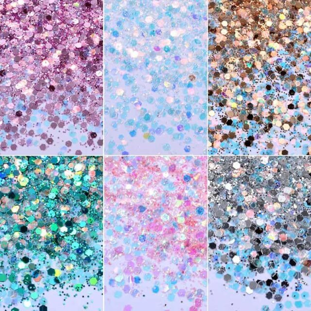 Sequins Nail Glitter Powders